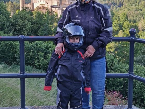 Mit meiner Enkelin unterwegs